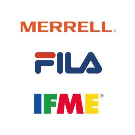 MERRELL・FILA・IFME