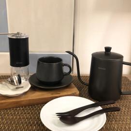 ホットコーヒーがおいしい季節☕