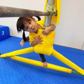 1歳4ヶ月から始める体操!