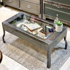 ローテーブル、人気のRAWカラーで入荷しました❗️