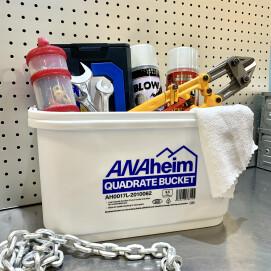シンプルで便利な四角いバケツANAheim Quadrate Bucket