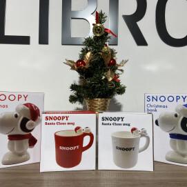 【スヌーピー】ひと足早めのクリスマスアイテムをご紹介♪
