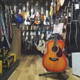 山野楽器オリジのアコースティックギターできました!