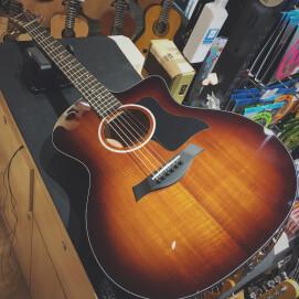 めちゃかわギター入荷 その2 ~Taylor 224ce KOA DLX~