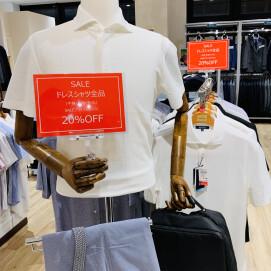 【⭐︎期間限定⭐︎ビズポロ・ドレスシャツSALE開催中】セール価格よりさらに20%OFFです‼️大好評につき期間延長です♪