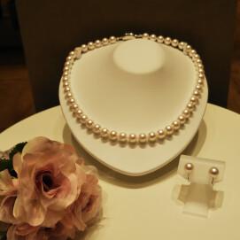 最上級の輝き‼️   花珠真珠セット