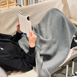 [ Thermal Boa Fleece Blanket ]