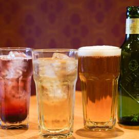 アルコール、ノンアルコールでディナー♪