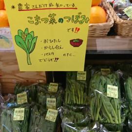 3月27日のおすすめ!『つまみ菜』