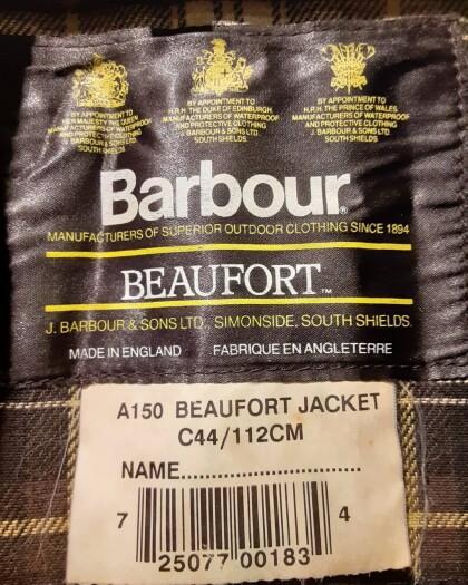 Barbour BEAUFORT