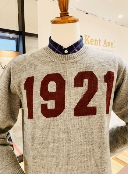"""【 McGREGOR 】"""" 1 9 2 1 """"セーター入荷しました、カワイイですよ♡"""