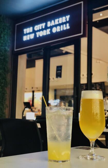 THE CITY BAKERY New York Grill 映画半券ドリンクサービス