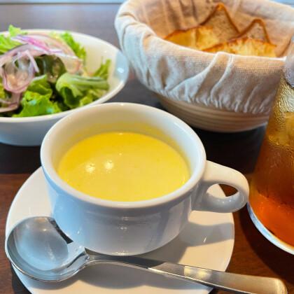 NEW YORK GRILLの冷製スープ!