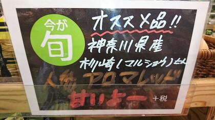 11月8日のおすすめ!『横浜市長津田産 人参 アロマレッド』