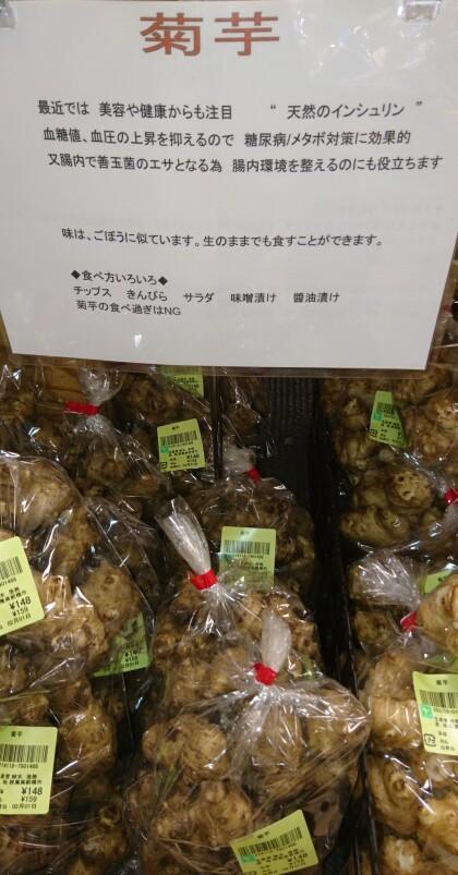 2月1日のおすすめ!『菊芋』