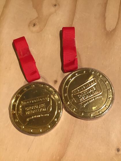金メダルチョコ入荷🥇